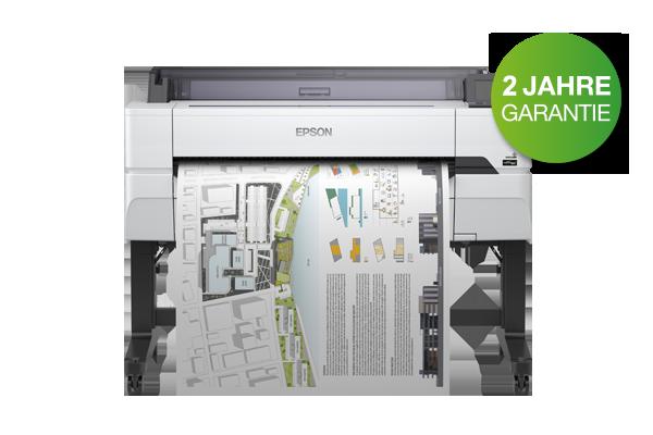 Preisgünstige EPSON Einstiegsdrucker für Architektur und Konstruktion